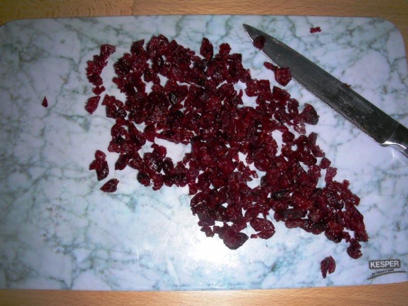 Cranberries hacken