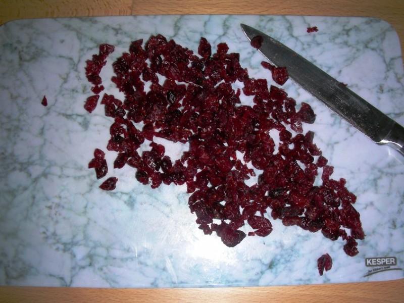 Cranberries hacken