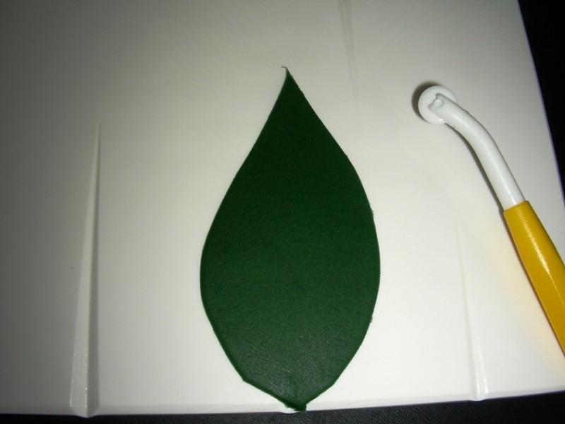 Blatt ausgeschnitten