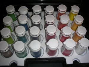 Puderfarben von Squires Kitchen
