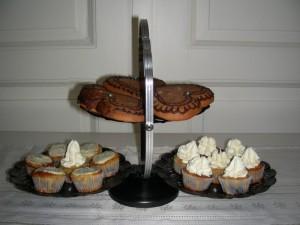 Lebkuchenherzen, Mini-Muffins & Mini-Cupcakes
