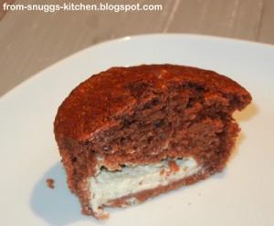 Snuggs Kitchen_Schokomuffin mit Frischkäsefüllung