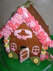 Sommerliches Lebkuchenhaus