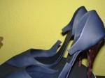 Schuhe mit Spitze und Ferse