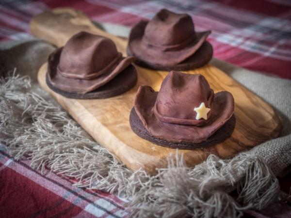 Cowboy-Hut-Plätzchen