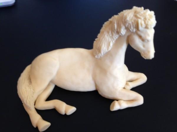 Pferd unbemalt
