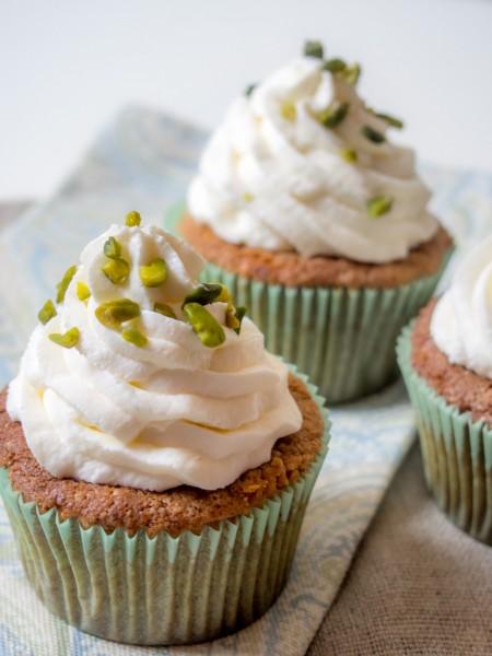 Pistazien-Cupcakes