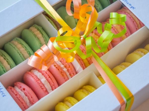 Macarons-Parade
