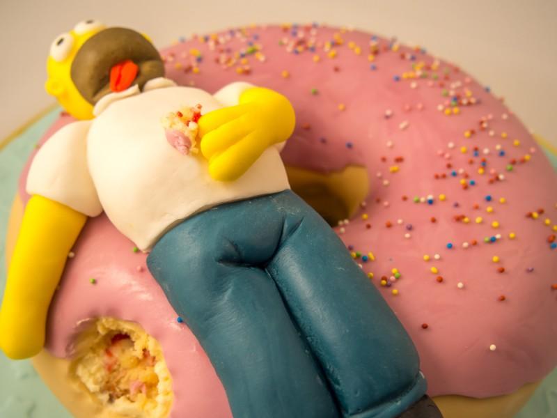 Simpsons Torte