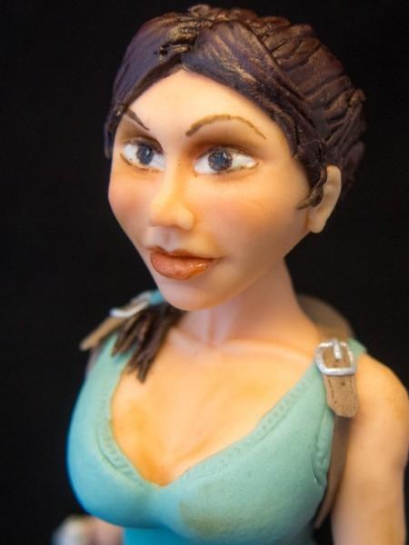 Lara Croft Fondant