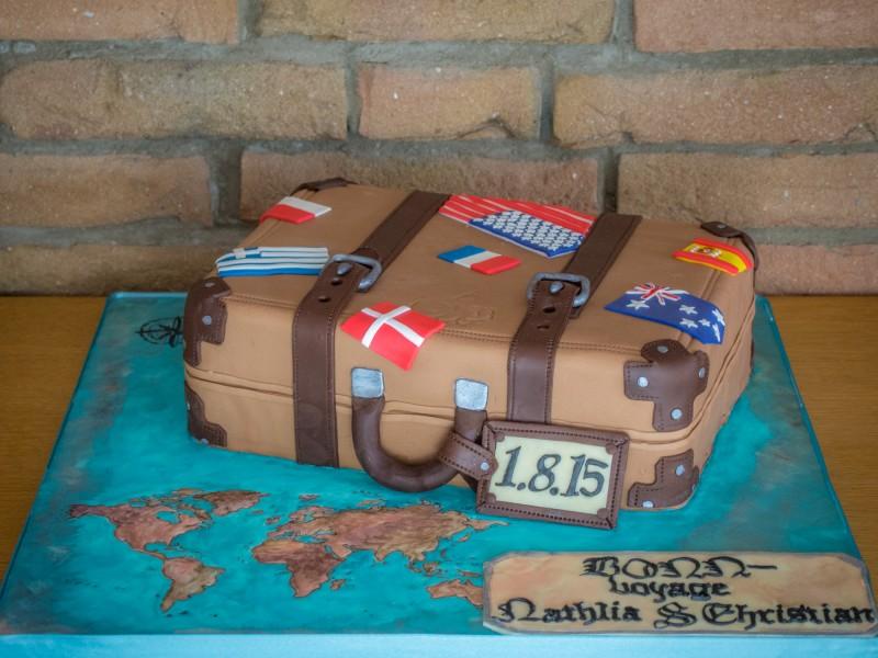 Suitcase Cake Ideas