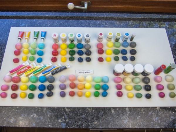 alle Farben und Hersteller im Vergleich