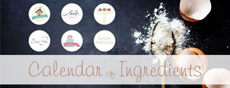Calendar of ingredients