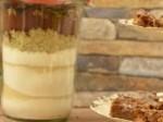 Backmischung für Schoko-Apfel-Brownies