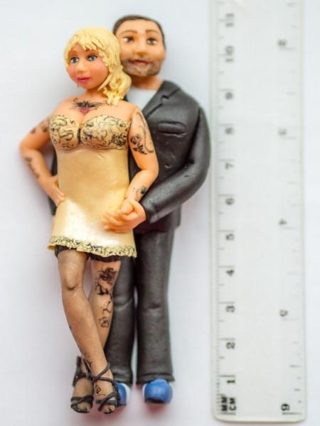 Brautpaar Cake Topper