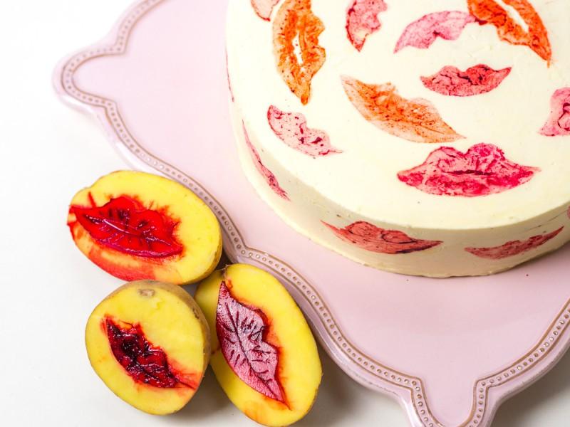 Kussmund-Torte