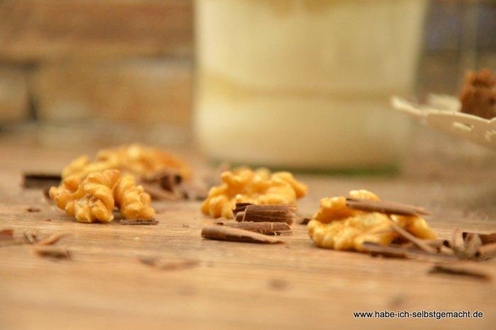 Apfel Schoko Walnuss Brownies