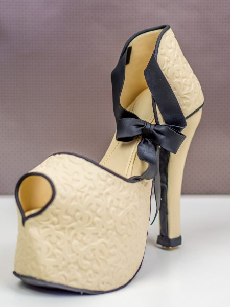 High Heel aus Fondant
