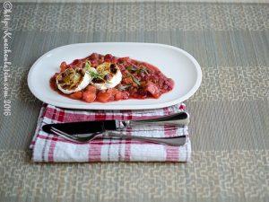Küchenlatein-rhabarberkompott