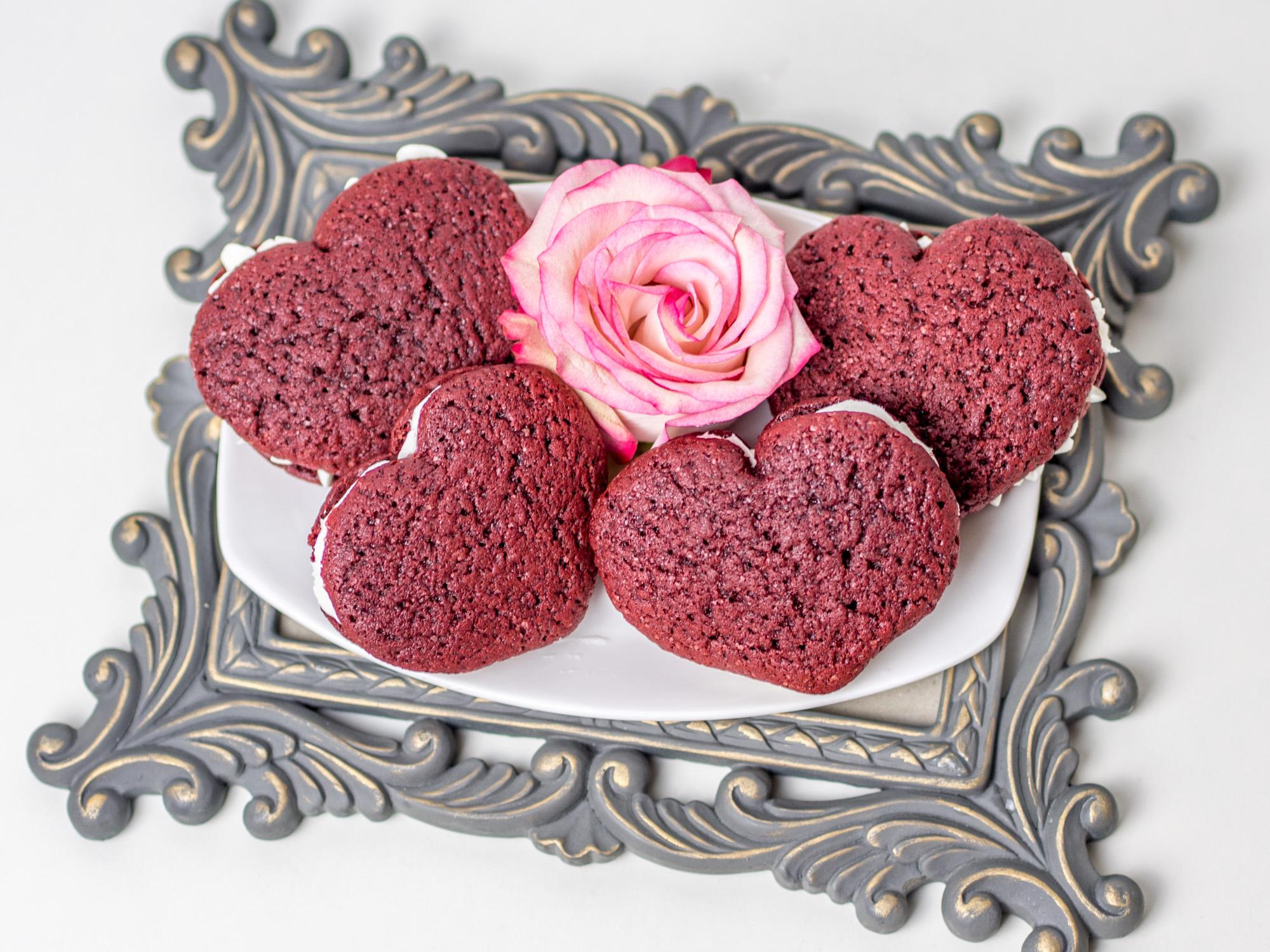 6 Zucker Herzen Aufleger Tortendeko Kuchen Rot Figuren Herz Liebe Valentinstag