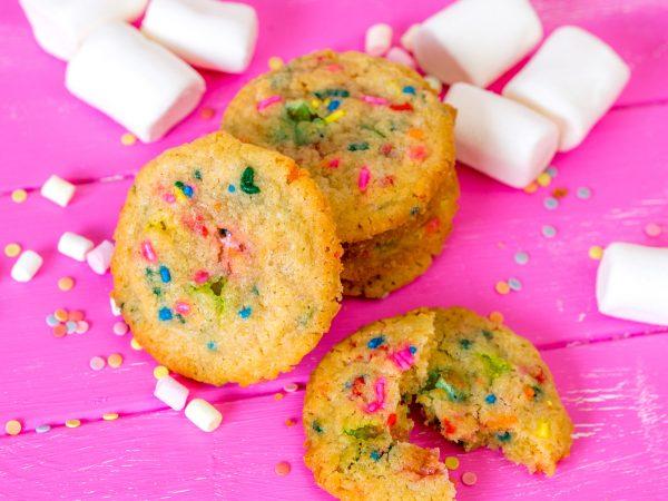 Funfetti Marshmallow Cookies-12