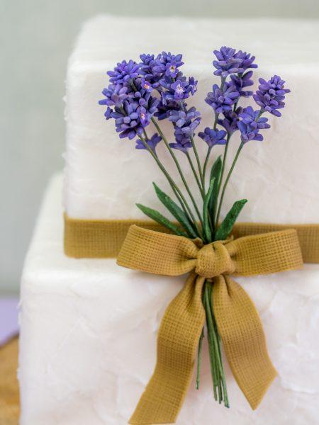 rustikale Hochzeitstorte