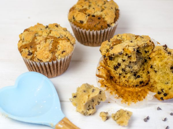 Cookie Dough Muffins
