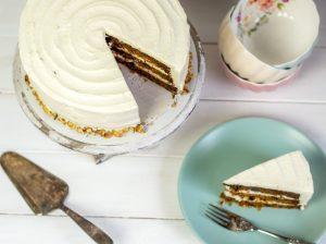 Carrot Cake mit Creamcheese-Frosting / Karottenkuchen mit Frischkäsecreme
