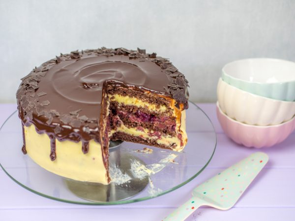Eierlikörtorte Drip Cake