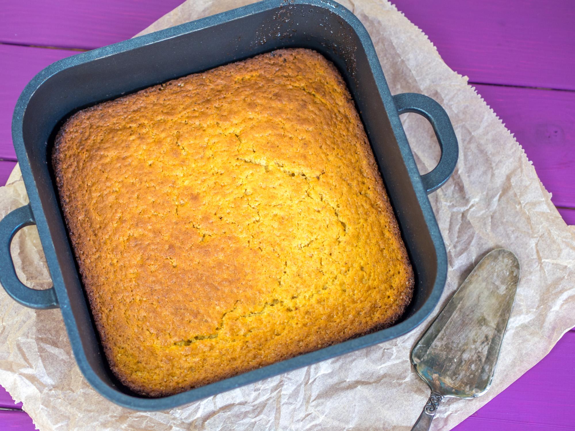 Rezept Sweet Cornbread Susser Kuchen Mit Maismehl
