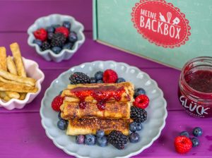 French Toast mit Himbeermarmelade und der Backbox {Video} {Werbung}
