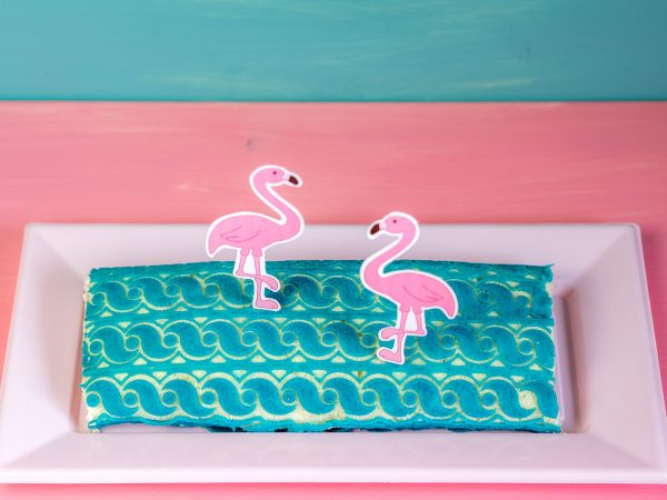 Flamingo Struktur-Biskuitrolle