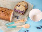 Blaubeer-Hafer-Kuchen, Heidelbeeren Blaubeeren Beeren Haferflocken Hafer Kuchen Brot