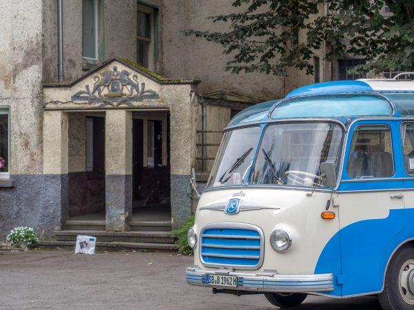 Saarland Oldtimer Bus