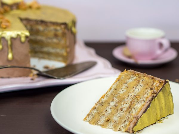 Golden Banoffee Cake
