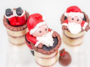 Test Buttercreme- und Biskuit-Mix von Tortys / Weihnachtsmann-Push-Pops {Produkttest**}