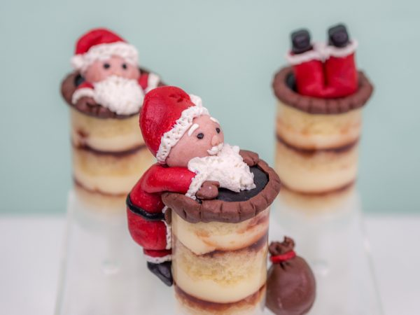 Weihnachtsmänner Push Pops