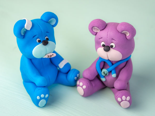 Teddy aus Fondant