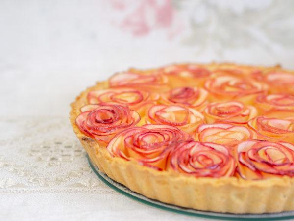 Apfelrosen-Tarte Rezept