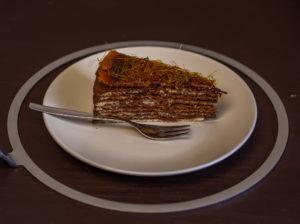 Dobos-Torte & Tipps zur Verwendung eines Dobos-Streichrings {Werbung}