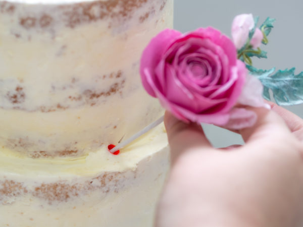 Semi Naked Cake Tutorial