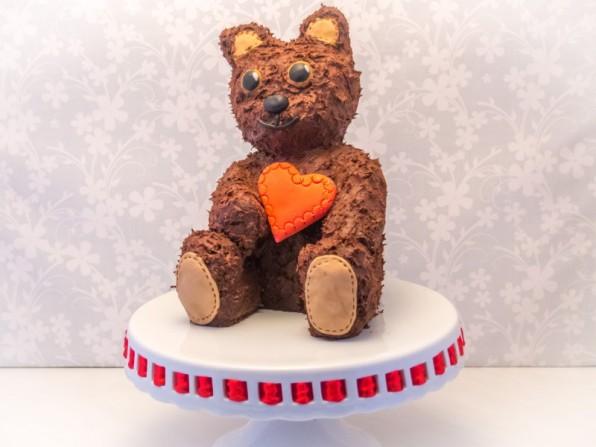 Muttertagstorte – Anleitung für Teddy-Torte