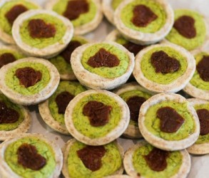 vegane Kräuter-Tartes