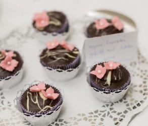vegane Schoko-Cupcakes