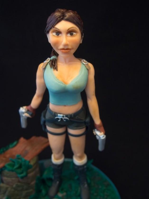 Lara Croft aus Zucker