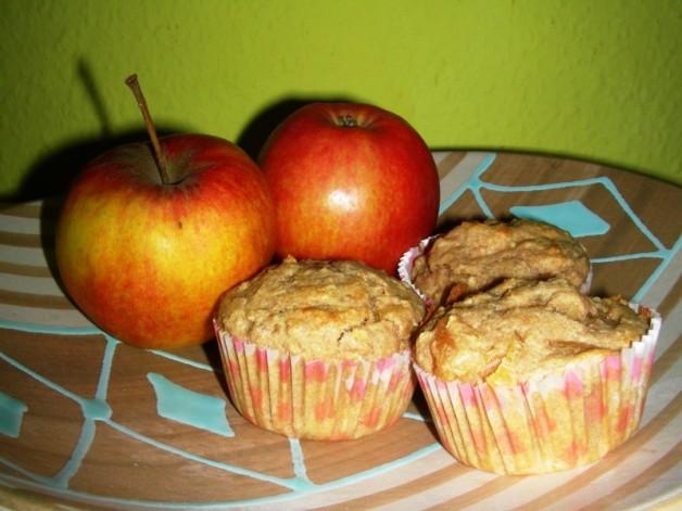 Aprikosen-Muffins mit Süßstoff
