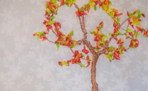 Baum aus Draht