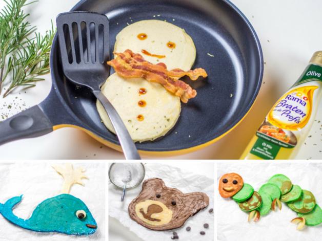 Pancake Art im Video – Kunst zum Frühstück {Werbung*}