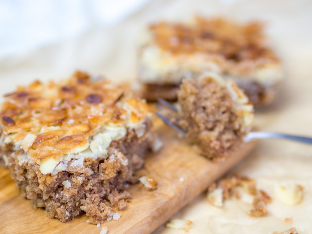 Oatmeal Cake – die amerikanische Hafer-Variante des deutschen Butterkuchens