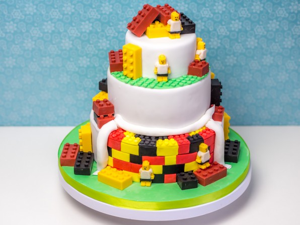 Lego-Torte zur Fußball-EM